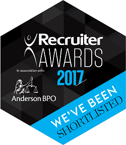 2017 Recruiter Awards Shortlisted Sml